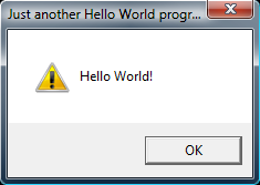 Hello World In Action