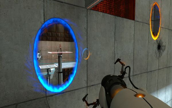 Rendering to a Portal, and Rendering to the Back Buffer