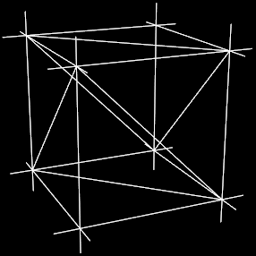 A Cube with Normals
